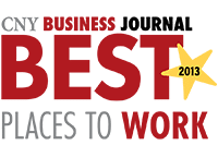 cny business journal best places to work 2013 logo